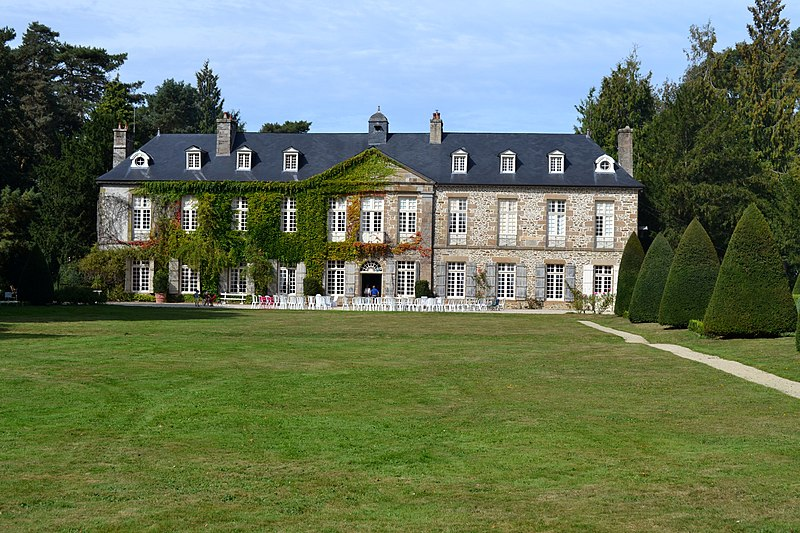 Photo du Monument Historique Château de la Rouërie situé à Saint-Ouen-la-Rouërie