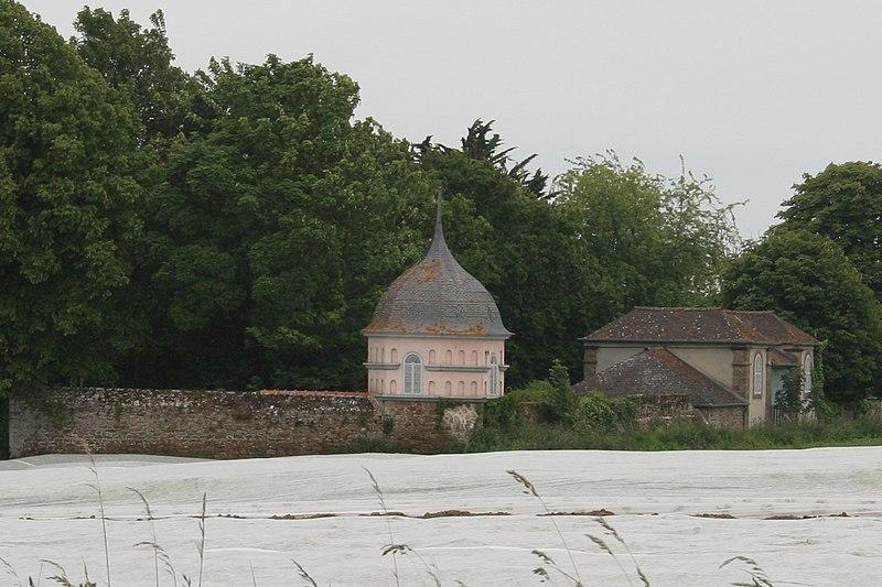 Photo du Monument Historique Malouinière de la Rivière, à Paramé situé à Saint-Malo