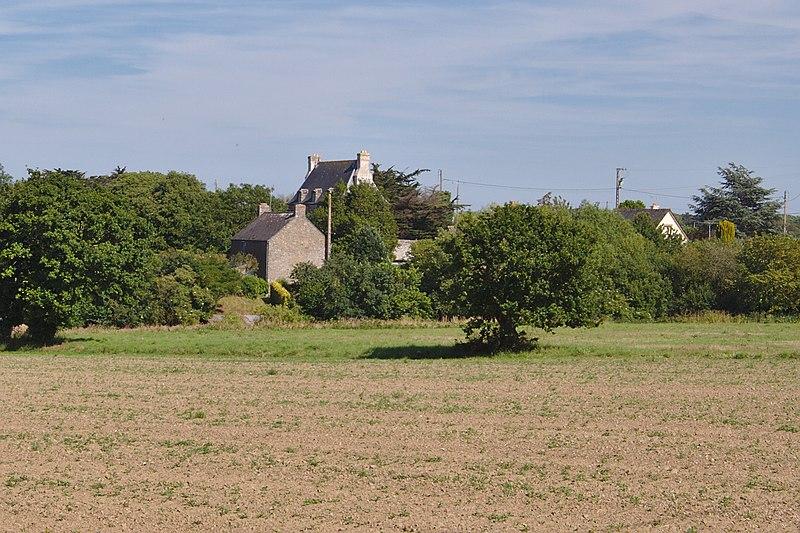 Photo du Monument Historique Malouinière de la Ville Azé situé à Saint-Coulomb