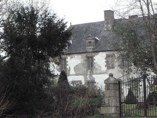 Photo du Monument Historique Ancienne abbaye de la Vieuville situé à Epiniac