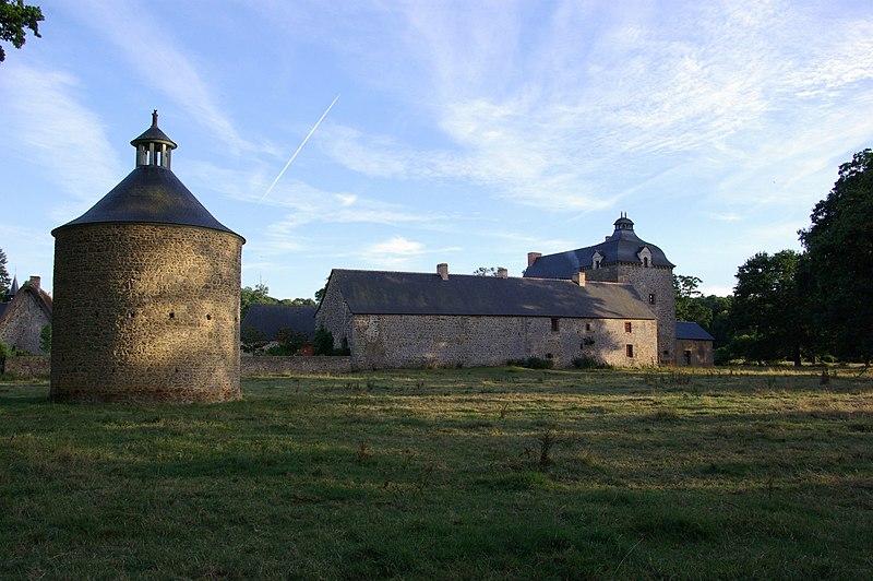 Photo du Monument Historique Manoir du Grand Trémaudan situé à Combourg