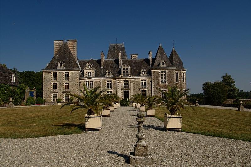 Photo du Monument Historique Château du Bois-Bide situé à Pocé-les-Bois
