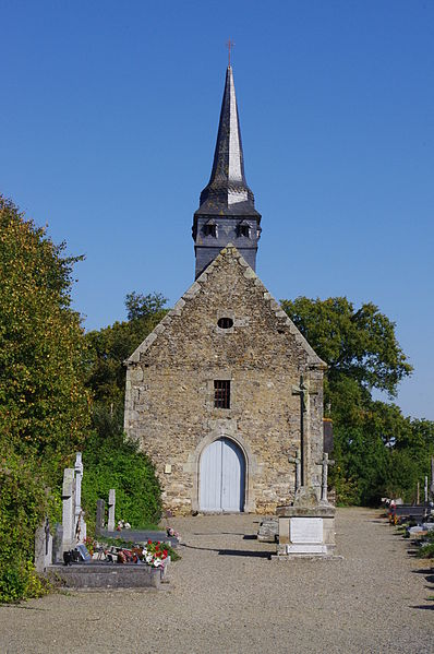 Photo du Monument Historique Eglise paroissiale Saint-Loup situé à Lou-du-Lac (Le)