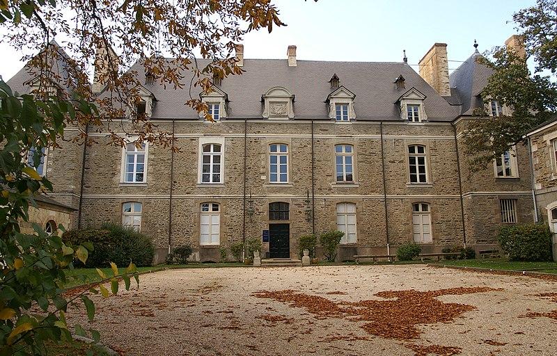 Photo du Monument Historique Ancien hôtel de Marbeuf situé à Rennes