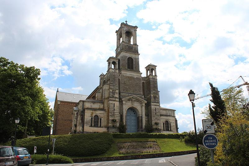Photo du Monument Historique Eglise Saint-Louis-Marie Grignion de Montfort situé à Montfort-sur-Meu