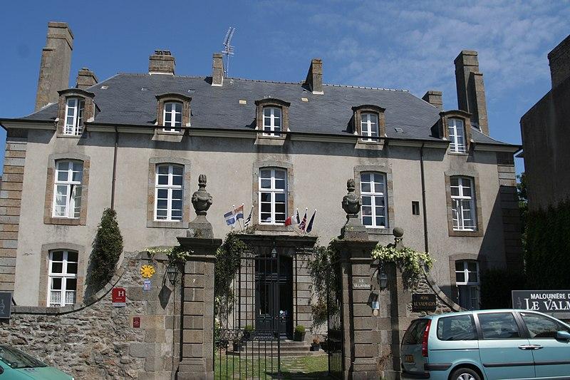 Photo du Monument Historique Malouinière Le Valmarin situé à Saint-Malo