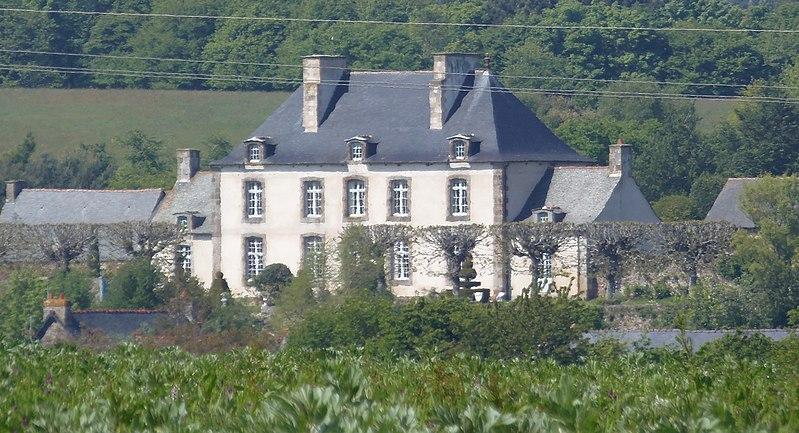 Photo du Monument Historique Malouinière Le Grand Val Ernoul situé à Saint-Méloir-des-Ondes