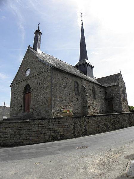 Photo du Monument Historique Eglise Saint-Martin situé à Vendel
