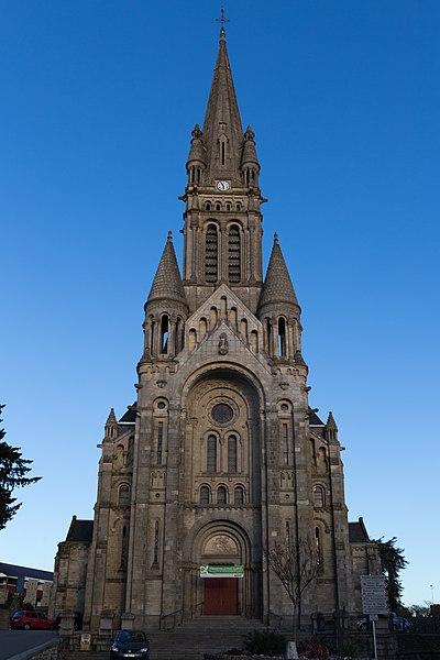 Photo du Monument Historique Eglise Saint-Martin situé à Vitré