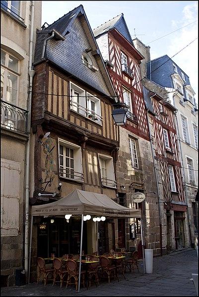 Photo du Monument Historique Immeubles situé à Rennes