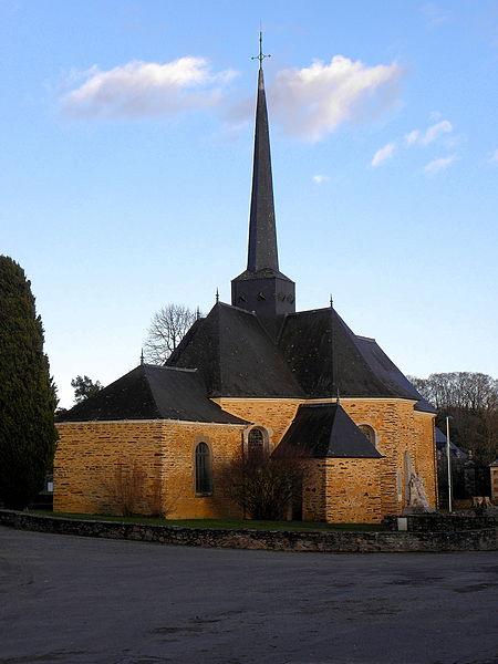 Photo du Monument Historique Domaine du château de la Chapelle-Bouëxic situé à La Chapelle-Bouëxic