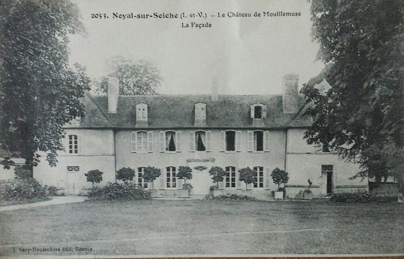 Photo du Monument Historique Domaine du manoir de Mouillemuse situé à Noyal-Châtillon-sur-Seiche