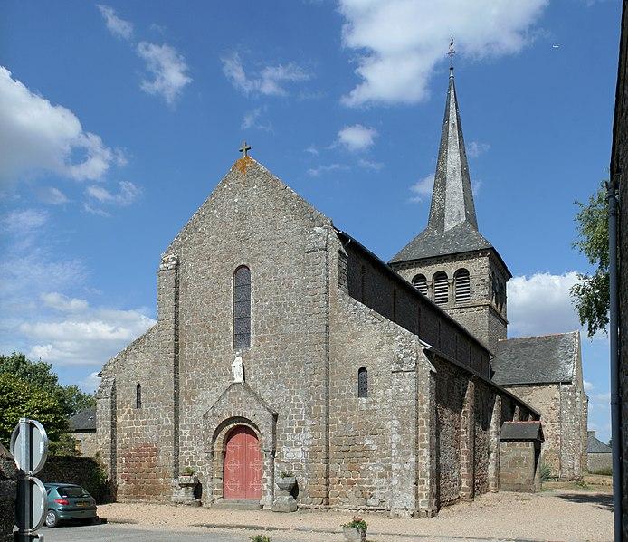 Photo du Monument Historique Église Notre-Dame situé à Hédé-Bazouges