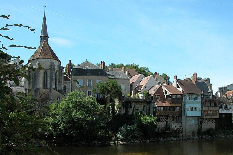 Photo du Monument Historique Chapelle Saint-Benoit situé à Argenton-sur-Creuse