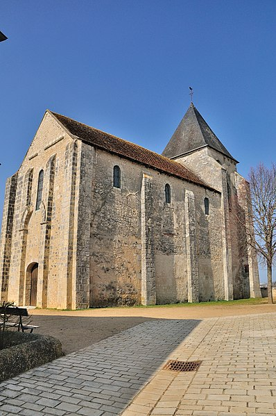 Photo du Monument Historique Eglise Saint-Cyran situé à Le Blanc
