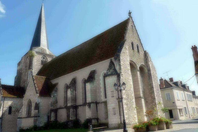 Photo du Monument Historique Eglise Saint-Christophe et Saint-Phalier situé à Chabris
