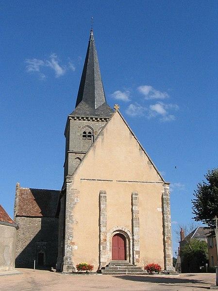 Photo du Monument Historique Eglise du prieuré Saint-Etienne situé à Chassignolles