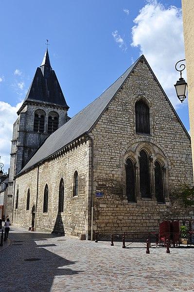 Photo du Monument Historique Eglise Saint-Martial situé à Châteauroux