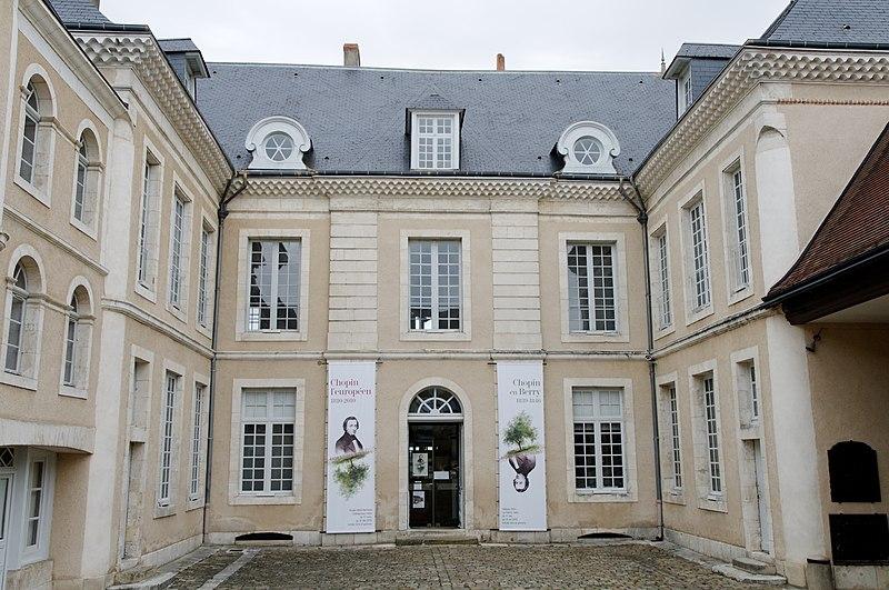 Photo du Monument Historique Ancien hôtel du Maréchal Bertrand situé à Châteauroux