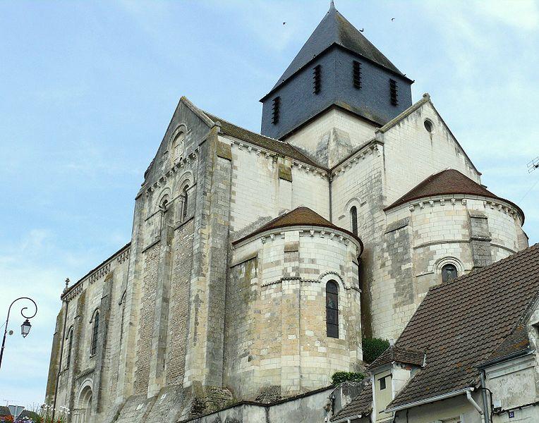 Photo du Monument Historique Eglise Notre-Dame situé à Châtillon-sur-Indre