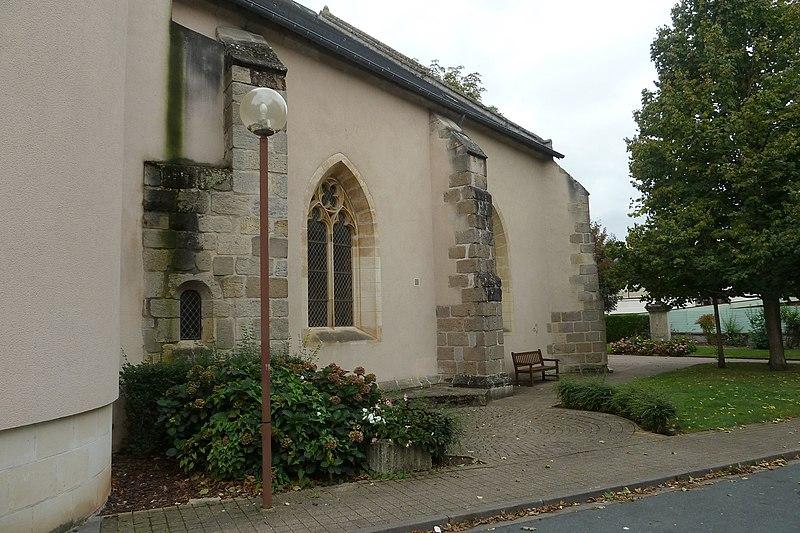 Photo du Monument Historique Ancien couvent des Carmes situé à Châtre (La)