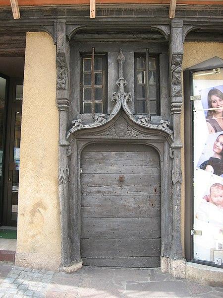 Photo du Monument Historique Maison du 15e siècle à pans de bois situé à Châtre (La)