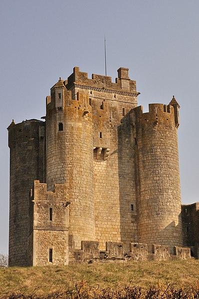 Photo du Monument Historique Château de Romefort situé à Ciron
