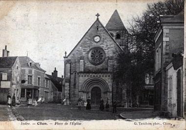 Photo du Monument Historique Chapelle de Varye, ou église Sainte-Colombe situé à Clion