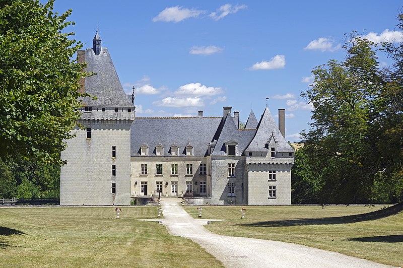 Photo du Monument Historique Château de l'Isle-Savary situé à Clion