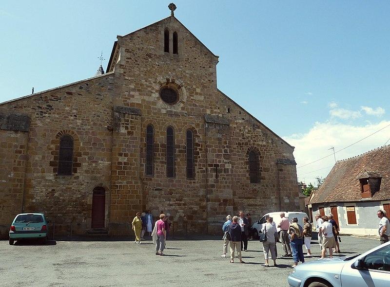 Photo du Monument Historique Eglise Saint-Paxent situé à Cluis