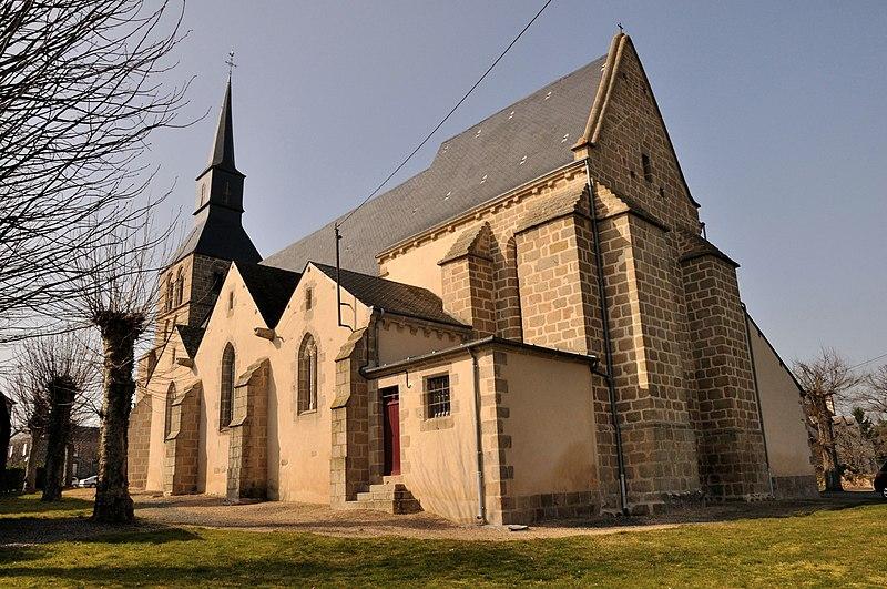 Photo du Monument Historique Eglise Saint-Aubin situé à Crevant