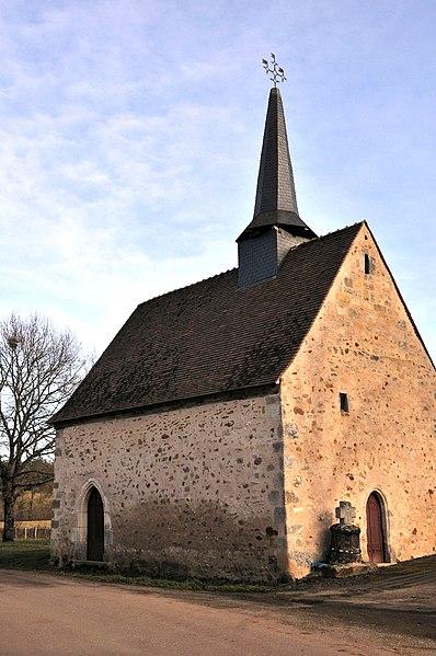 Photo du Monument Historique Chapelle de Vouhet situé à Dunet