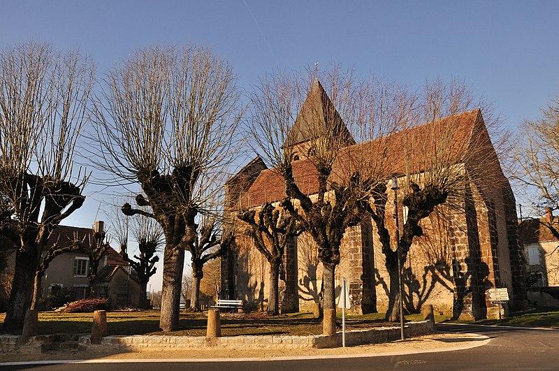 Photo du Monument Historique Eglise Saint-Martial situé à Dunet
