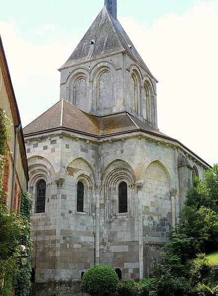 Photo du Monument Historique Eglise Saint-Laurent et Notre-Dame situé à Gargilesse-Dampierre