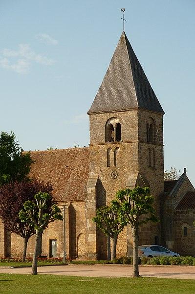 Photo du Monument Historique Eglise Saint-Martin situé à Lacs