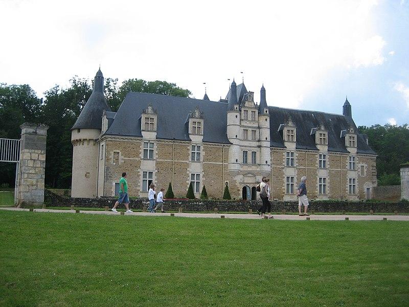 Photo du Monument Historique Château d'Ars situé à Lourouer-Saint-Laurent