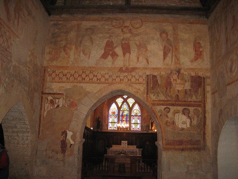 Photo du Monument Historique Eglise Saint-Laurent situé à Lourouer-Saint-Laurent