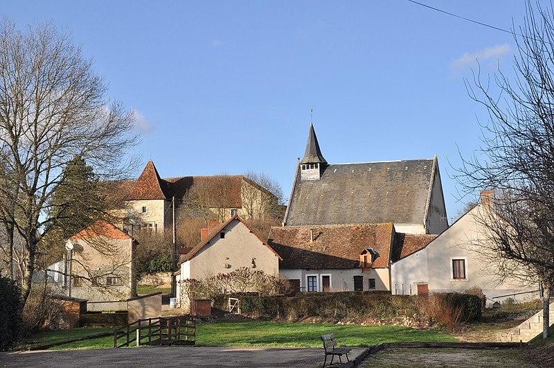 Photo du Monument Historique Abbaye de Loudieu situé à Luzeret