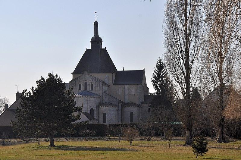 Photo du Monument Historique Ancienne abbaye Saint-Pierre et Saint-Paul situé à Méobecq