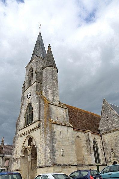Photo du Monument Historique Eglise Sainte-Marie-Madeleine situé à Mézières-en-Brenne