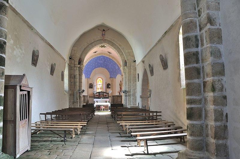 Photo du Monument Historique Eglise Saint-Pierre situé à Mouhet