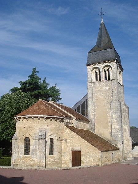 Photo du Monument Historique Eglise Saint-Laurent situé à Neuvy-Pailloux