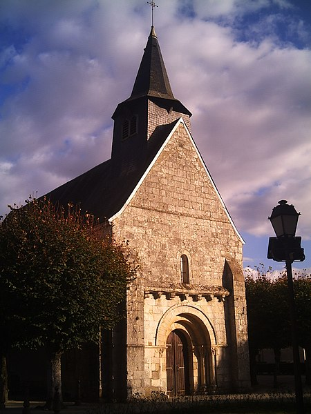 Photo du Monument Historique Eglise Saint-Sulpice situé à Niherne