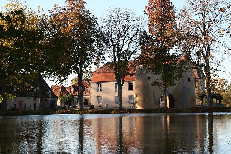 Photo du Monument Historique Château de Breuil-Yvain situé à Orsennes