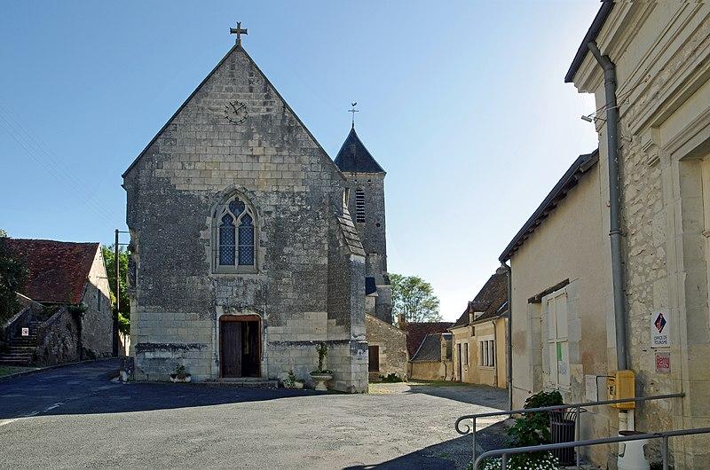 Photo du Monument Historique Ancienne collégiale Sainte-Menehould, actuelle église Saint-Sulpice situé à Palluau-sur-Indre