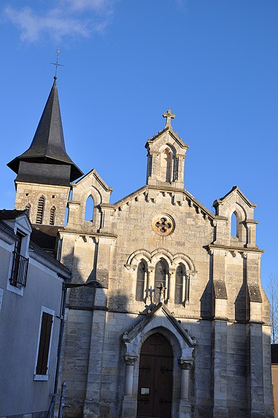 Photo du Monument Historique Eglise de Pont-Chrétien situé à Le Pont-Chrétien-Chabenet