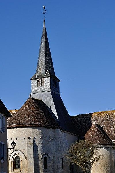 Photo du Monument Historique Eglise Saint-Denis situé à Rivarennes