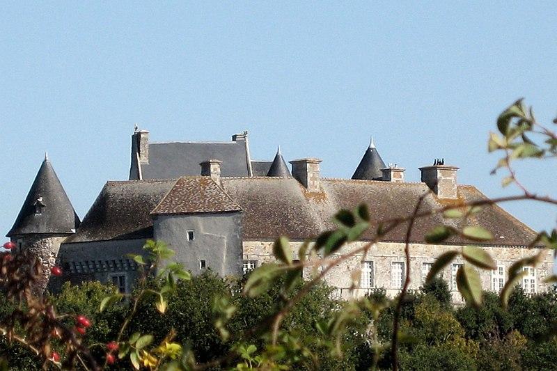Photo du Monument Historique Château du Bouchet situé à Rosnay