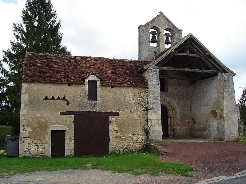 Photo du Monument Historique Eglise Saint-Aignan situé à Saint-Aigny