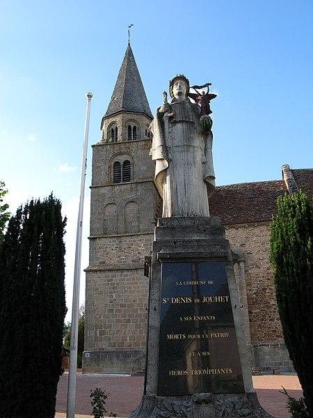 Photo du Monument Historique Eglise situé à Saint-Denis-de-Jouhet
